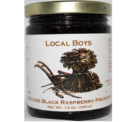 Seedless Black Raspberry Preserves